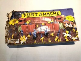 The Famous Fort Apache Vintage Toy Western Playset Brand New Made In USA, - $39.60