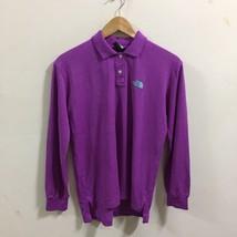 Purple Long Sleeve Polo Golf Shirt Mens sz L - $29.69