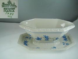 Rosenthal Maria 3473 Blue Floral Gravy Boat - $49.49