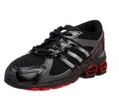 adidas Infant/Toddler Kahona Running Shoe,Black, Toddler Size 8.5 K US - $39.59