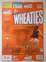 Empty Wheaties Box 2001 18oz Dave Winfield & Kirby Puckett [Z202f4] - $5.58