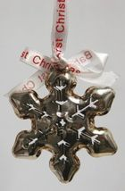 Roman 36772 Babys First Christmas Snowflake Ornament Color Silver image 3