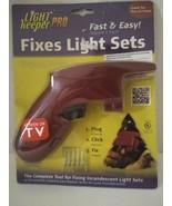 Light Keeper PRO Christmas Light Tester Fixes Light Sets Worn Package (i) - $19.79