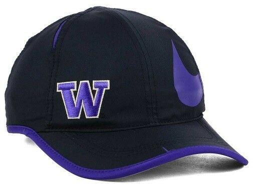 Washington Huskies NCAA Nike Big Swoosh Aerobill Adjustable Hat
