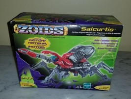 Zoids Saicurtis 1/72 Scale Model Kit #018 Wind Up Motor Factory Sealed 2002 - $29.69