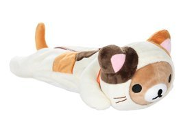 Rilakkuma Beautiful Plush Toy Pencil Case Japan... - $22.74