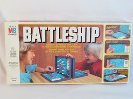 Battleship 1978 Classic Naval Combat Board Game 100% Complete Bilingual ... - $18.69