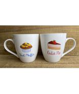 Pfaltzgraff Cutie Pie Stud Muffin Coffee Mug Cup 16 oz  Ceramic Lot of 2 - $29.65