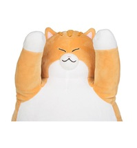 The Mese Fluffy Stuffed Cat Figurine Loaf Position Catloaf Animal Plush Toy image 4