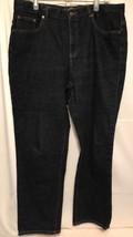LRL Lauren Ralph Lauren Classic Boot Cut Sz 16 Dark Denim Jeans Women Blue - $17.34
