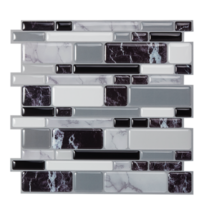 (Ship from USA) Stick Backsplash Tiles for Bathroom and Kitchen Peel and Stick T image 5