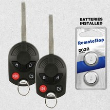 2 For 2011 2012 2013 Ford F150 F250 F350 Super Duty Uncut Car Remote Key... - $24.74