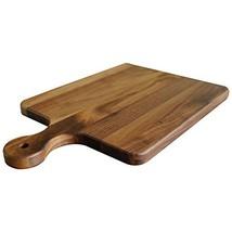 Walnut Wood Cutting Board with Handle by Virginia Boys Kitchens - 10x16 ... - $73.75
