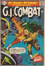 DC G.I. Combat #118 My Buddy My Enemy The Haunted Tank Battlefield Action - $9.95