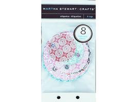 Martha Stewart Crafts Tags Floral Round #M093001 - $3.99