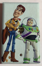 Toy Story Woody Buzz Lightyear Light Switch Outlet wall Cover Plate Home Decor image 4