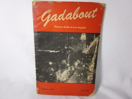 Gadabout Pleasure Guide to Los Angeles December 1946 - $29.69