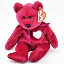 1998/1999 Ty Beanie Baby Original Valentina Valentines Bear Beanbag Plush Toy