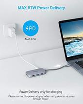 USB C Hub, Type C Hub EUASOO 8 in 1 Adapter with 4K HDMI, 3 USB 3.0 Ports, USB 2 image 6