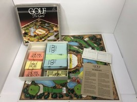 GOLF The GAME ~ Vintage 1985 Board Game ~ For the Golf Enthusiast! Rare - $9.89