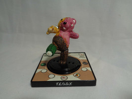 2003 Creepy Freaks The Gross-out 3D Trading Game Replacement Teddy Figure - $0.98