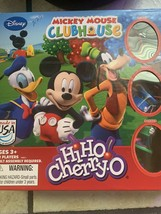 Mickey Mouse Clubhouse Board Game Hi Ho Cherry-O  Ages 3+2-3 Players Mad... - $10.40
