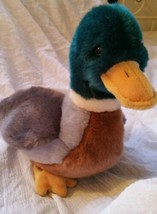 Ty Beanie Buddy Jake The Mallard Duck 1998 Retired Tush and Ty Tag Are P... - $19.49