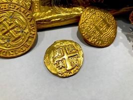 """PERU 1750 8 ESCUDOS SHIPWRECK """"LA LUZ"""" PIRATE GOLD DOUBLOON PIRATE COIN ... - $6,950.00"""