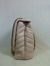 NWT Tory Burch Pink Moon Kira Chevron Convertible Shoulder Bag $528 image 6