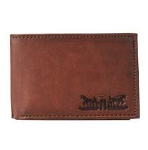 Levi's Men's RFID Blocking Credit Card ID Bifold Brown Logo Wallet 31LV22010 image 2