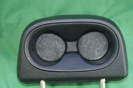 11-15 Dodge Journey 2nd Row Black Cloth 3 Headrests Headrest w/ Cupholder image 7