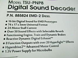 Soundtraxx 885824 Tsunami 2 TSU-PNP8 Sound Decoder EMD-2 Diesel 8 Function image 2