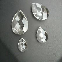 10pc 38/50/63/76mm Crystal Optical Net Waterdrop Pendant Chandelier Wedding Lamp - $9.04+