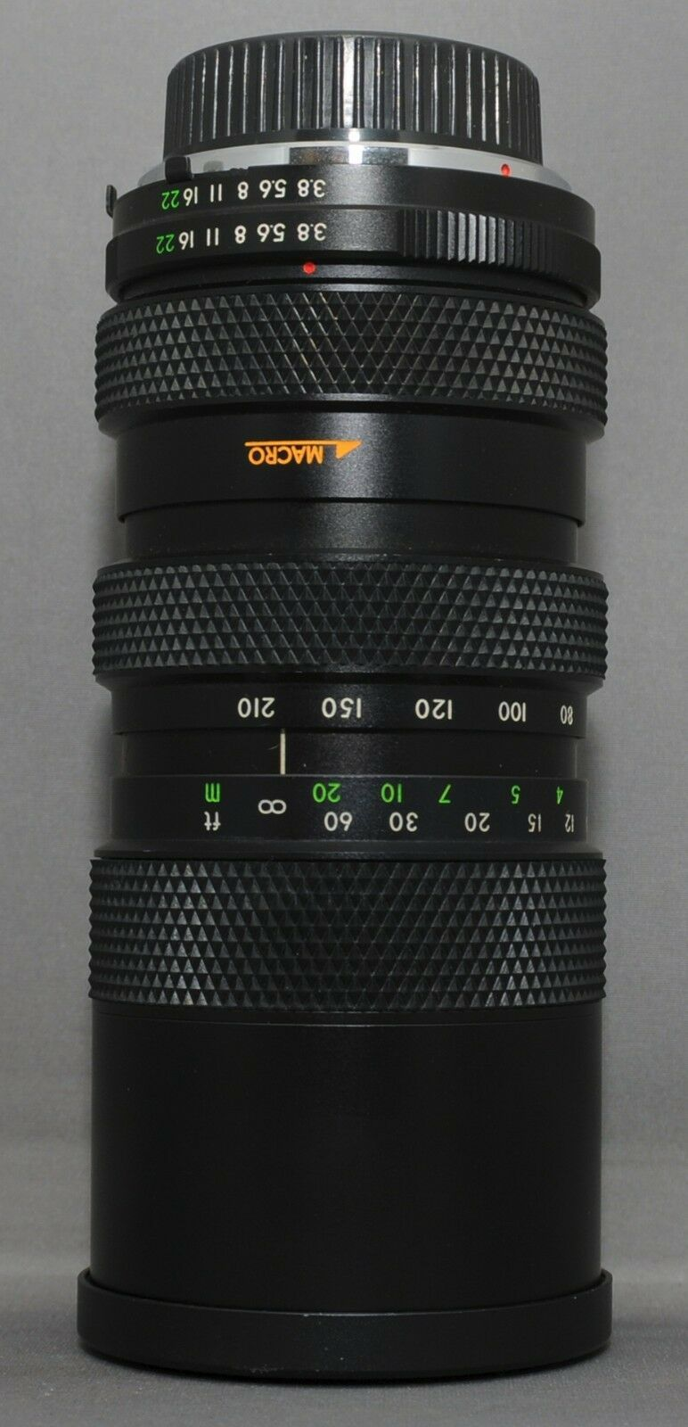 DEJUR MC 80-210mm F3.8 MACRO Minolta MD Mount SLR Film Camera Lens +Case Japan