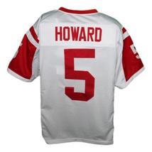 Vince Howard #5 East Dillon Lions Men Football Jersey White Any Size image 2