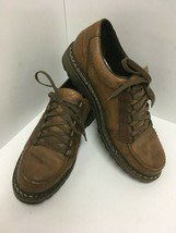 MEPHISTO Match Sherpa's Air Jet System Men's Brown Leather Work Shoes 11... - $65.44