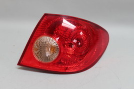 05 06 07 08 TOYOTA COROLLA RIGHT PASSENGER SIDE TAIL LIGHT OEM - $35.63