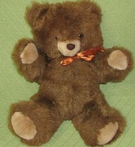 "16"" Commonwealth TEDDY BEAR 1985 Brown Plush Stuffed Animal Toy Vintage ... - $28.05"
