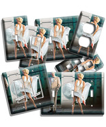 MARILYN MONROE WHITE SUBWAY DRESS LIGHT SWITCH OUTLE WALL PLATES ROOM HO... - $10.99+