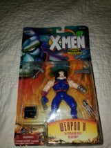 NEW Marvel XMEN Age Of Apocalypse 1995 WEAPON X Interchangeable Weaponry... - $18.80