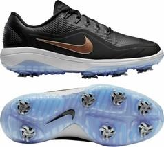 Nike React Vapor 2 Golf Shoes Spikes Size 7.5 Black Bronze Women's Lunar... - $79.19