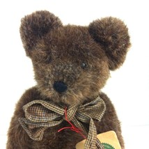 Boyds Bears Brumley 12 In  Bear OVC Exclusive Retired Plush Dark Brown w... - $14.84