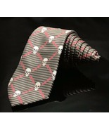 "OLD NAVY Youth Skull And Crossbones Lighting  Necktie Tie 43.5""x 2.5"" - $9.19"