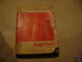 1966 Dodge Niedrig Cab Forward Kipp 500-1000 Truck Service Shop Reparatu... - $14.29