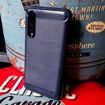 Xiaomi Mi 10 Pro 5G Impact Resistant Cover Flexible Carbon BLUE  VX1™ - $19.47