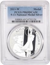 2011-W 9-11 National Medal $1 PCGS PR 69 DCAM - $63.05