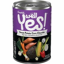 Campbell's Well Yes Sweet Potato Corn Chowder Soup 16.6 oz ( Pack of 6 ) - $31.67