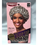 RED BY KISS SILKY SATIN SLEEP CAP BREATHABLE DUAL LAYERS HSLP02 - $3.95