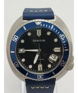 Heritor Morrison Watch- Blue Dial HERHR7614 Automatic Men's Watch Leathe... - $217.97