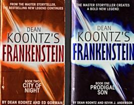 "Dean Koontz's ""Frankenstein"" Book 1 Prodigal Son & Book 2 City Of Night - $9.95"